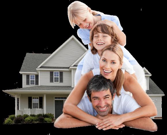 happy family buy houses