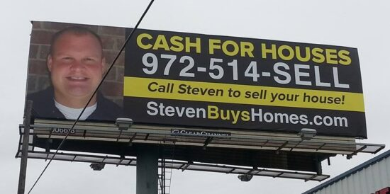 One of our billboards
